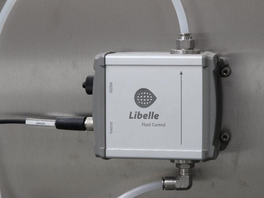 Logo Oberflächenmessgerät - Libelle Prozesssicherheit
