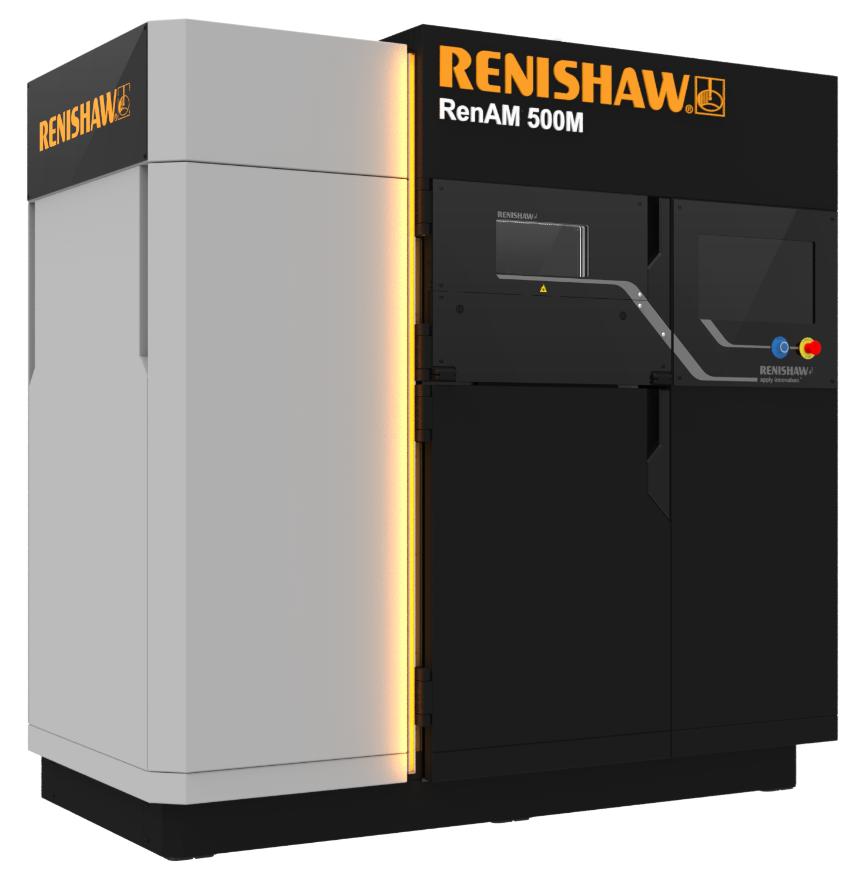 Logo RenAM500M Metal additive manufacturing (3D printing) system