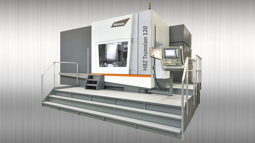Logo Horizontal machining center - Horizontal machining center HBZ® Trunnio
