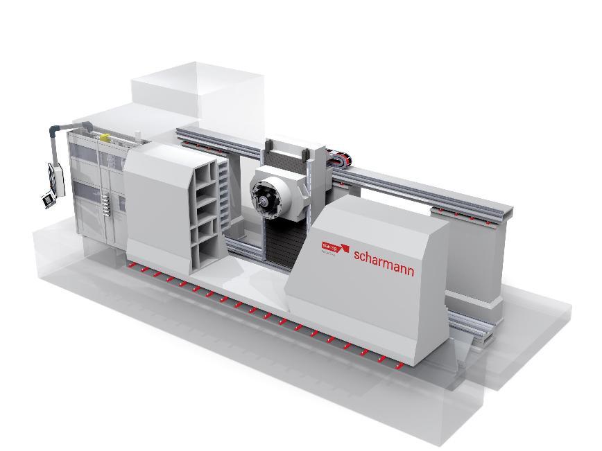 Logo High speed machining centre - Scharmann ECOSPEED