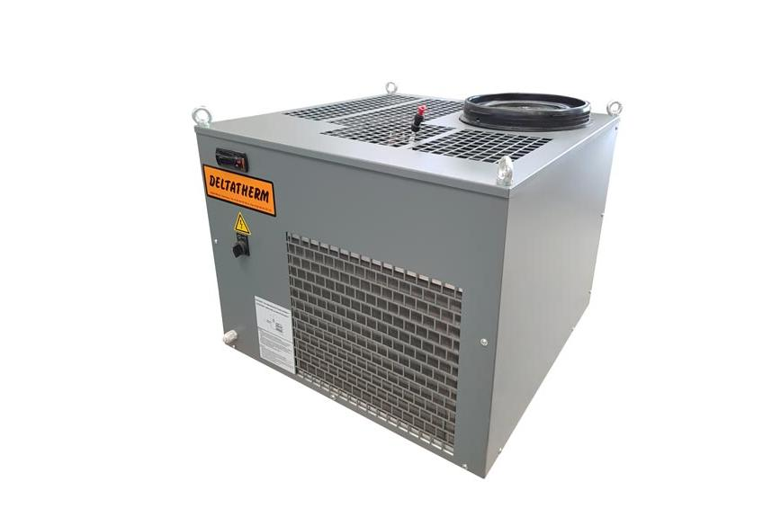 Logo Industrial chiller systems with a temperature stability of +/- 0,1K