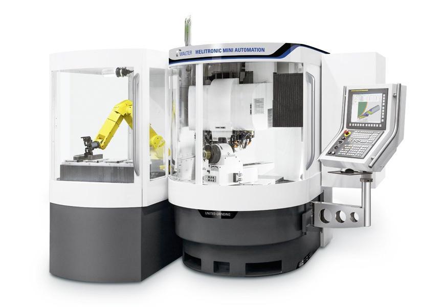 Logo Universal-Werkzeugschleifmaschine - WALTER HELITRONIC MINI AUTOMATION