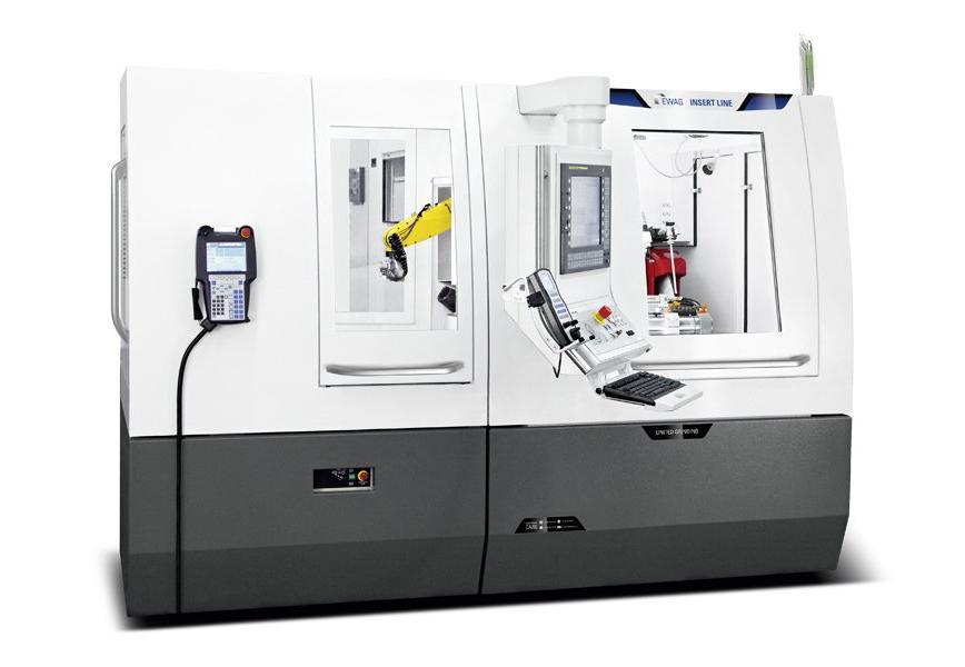 Logo Reversible carbide tip grinding machine - EWAG INSERT LINE
