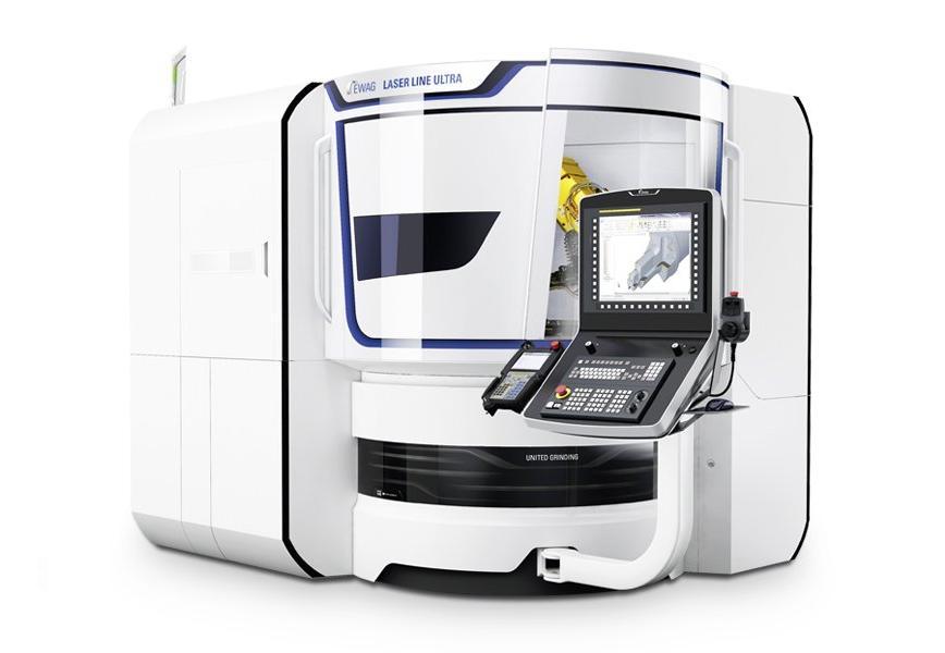 Logo Laser eroding machine - EWAG LASER LINE ULTRA
