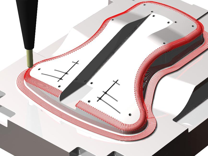 Logo CAM Software - Pictures by PC - 3D-Freiformbearbeitung