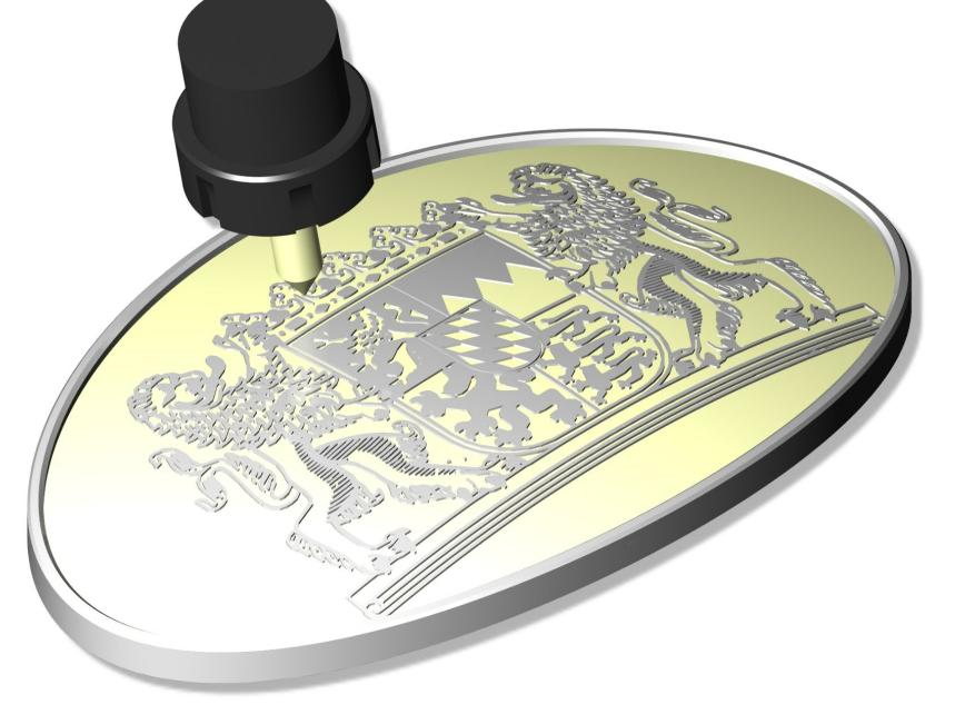 Logo CAM software - Pictures by PC - Engraving and Carving up to 5 Axis