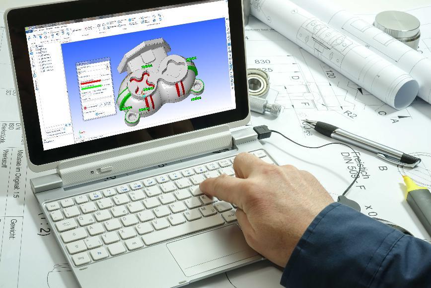 Logo WORKXPLORE - Ihr high-speed CAD-Viewer für alle gängigen Datenformate