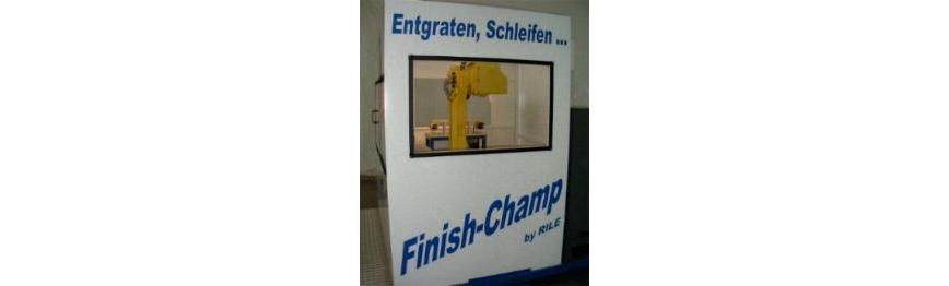 Logo Finish-Zelle - Standard-Roboter-Entgratzelle für High-tech Finish-Bear