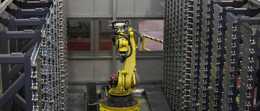 Logo Storage of workpieces and tools - Modular autonomous tool magazine