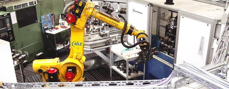 Logo Manipulating robots - Handling