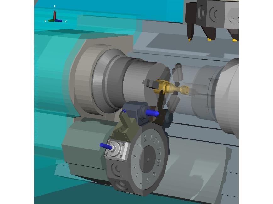 Logo Programmier-System für CNC-Maschinen   - Full Machine Simulation