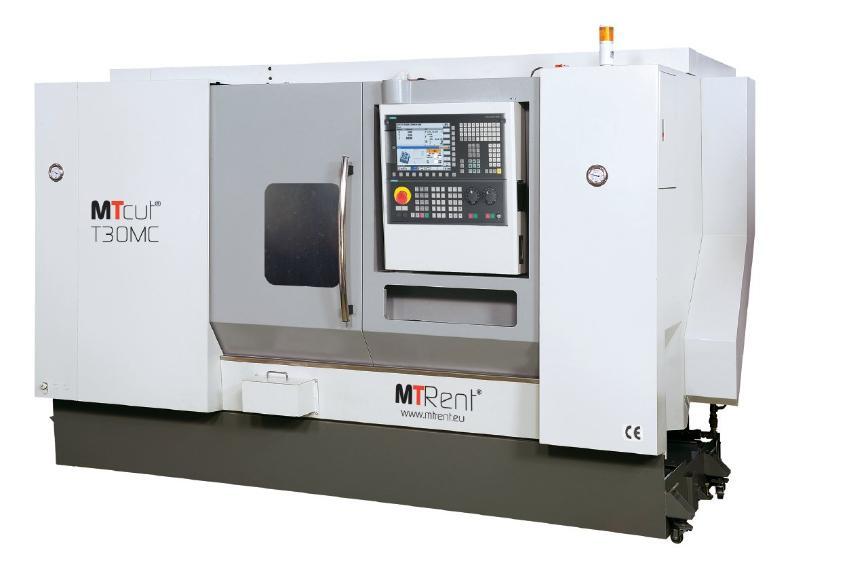 Logo Universal lathe - MTcut® T30MC