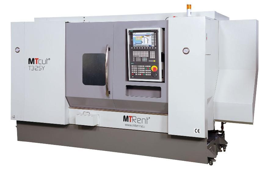Logo Universal-Drehmaschine - MTcut® T32SY