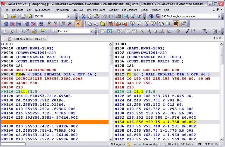 Logo Software für NC-Simulation - CIMCO Editor
