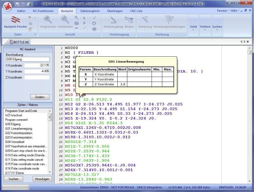 Logo Software for NC simulations - CIMCO Editor