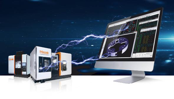 CAM software - Mazatrol CAD-Import - Product - EMO 2019