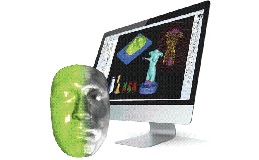 Logo CAM software - 3D Fräsbearbeitung für Mazak