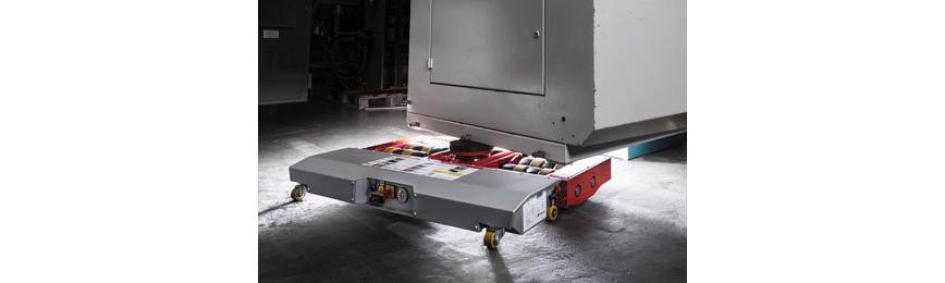 Logo Lifting and transport equipment - Electric-powered trolleys