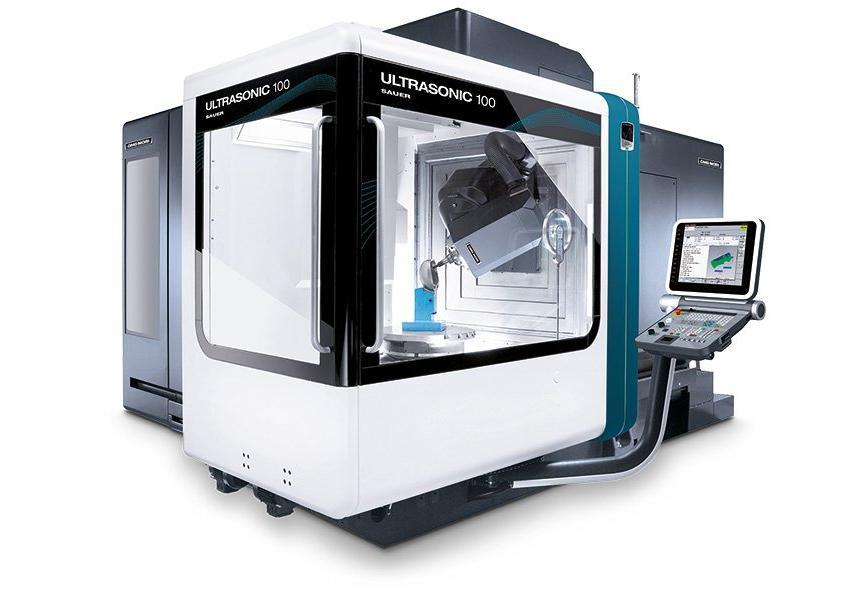 Logo Universal bed type milling machine - ULTRASONIC 100 duoBLOCK®