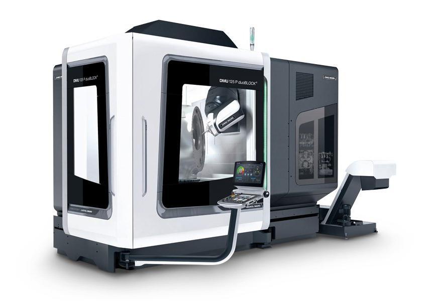 Logo Universal machining centre - DMU 125 P duoBLOCK® 4th Generation