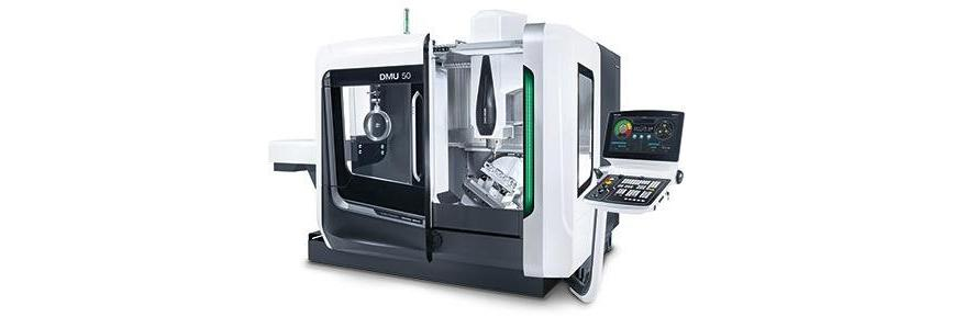 Logo Universal machining centre - DMU 50 3rd Generation