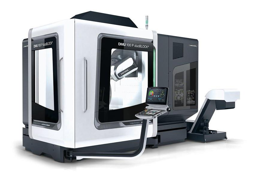 Logo Universal machining centre - DMU 100 P duoBLOCK®