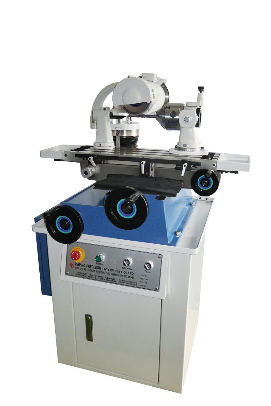 Logo Tap grinding machine - Straight Flute Tap Grinder