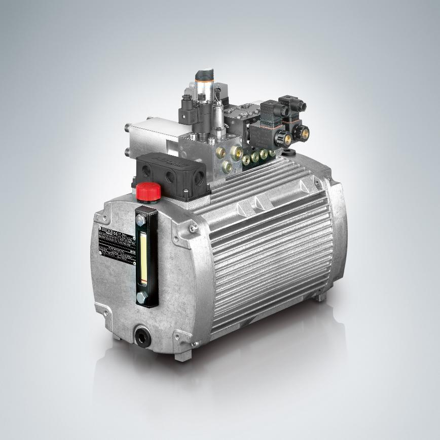 Logo Hydraulik-Aggregat, Kompaktes Pumpenaggregat - KA