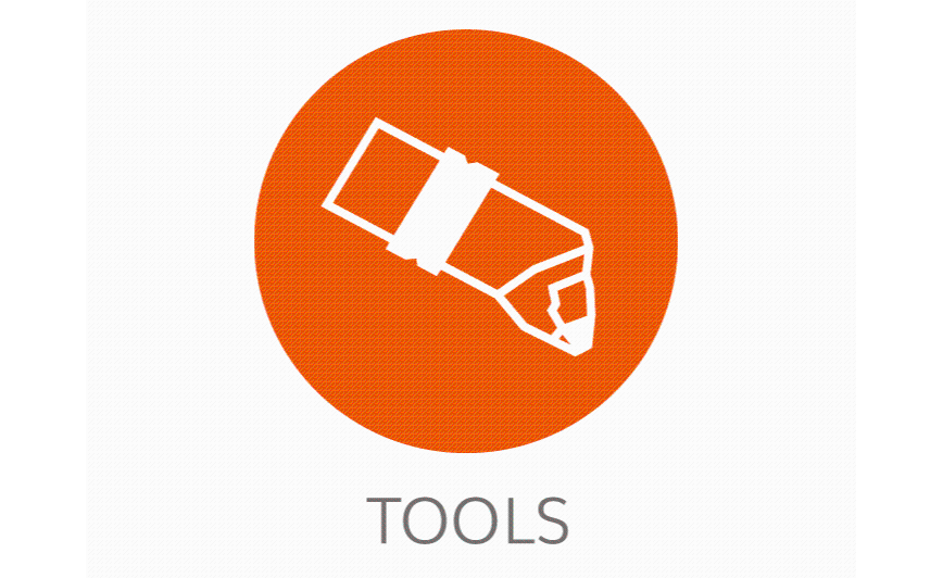 Logo Tool management software - FM TOOLS powered by toolflakes