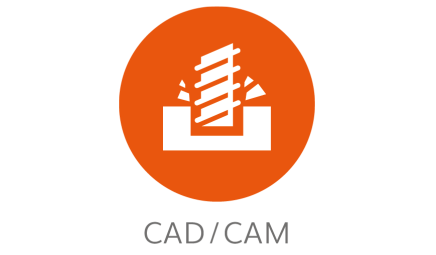 Logo CAM software - FM CAD/CAM powered by TopSolid