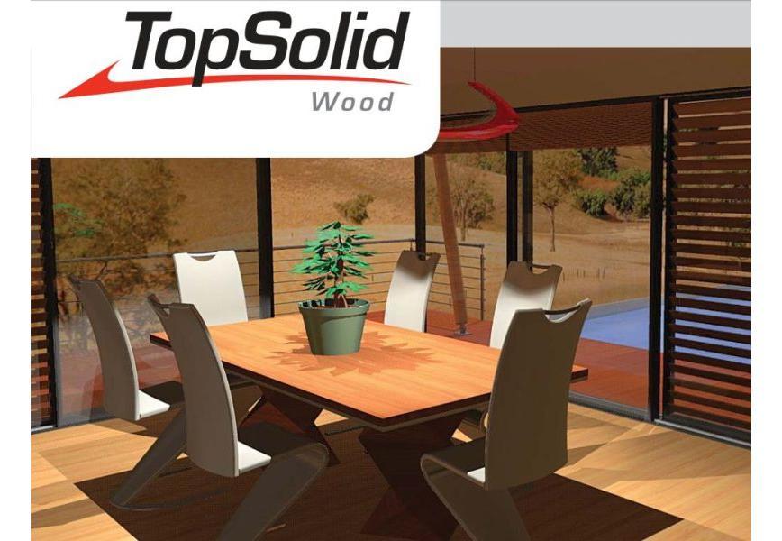 Logo CAM software - TopSolid'WoodCam