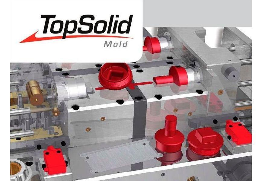 Logo CAD-Software - TopSolid'Mold