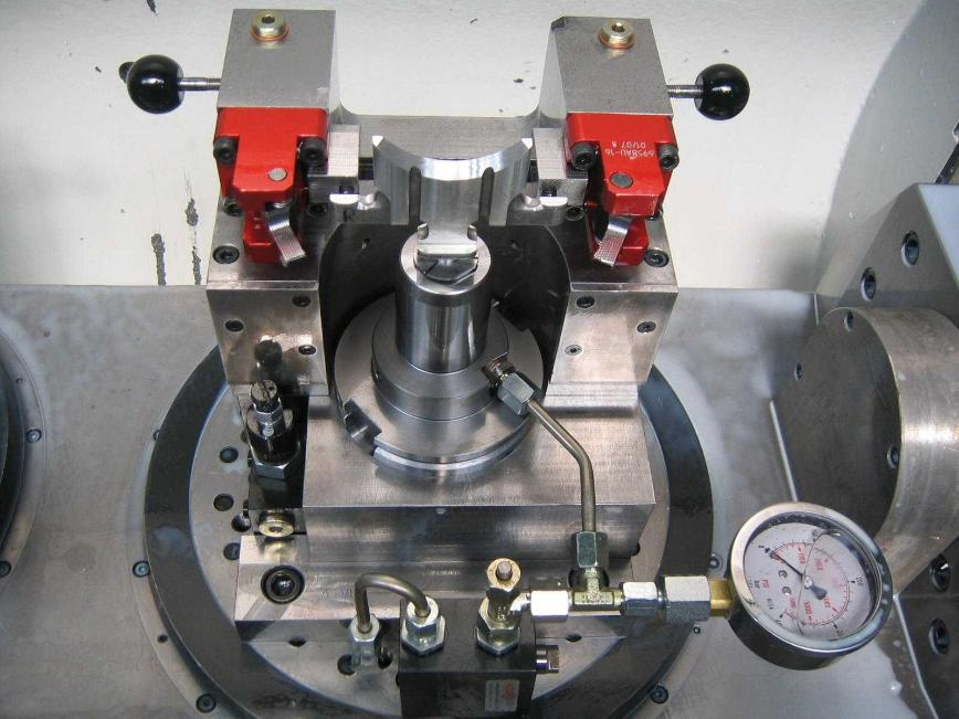 Logo Clamping device, hydraulic - HYDRAULIC CLAMPING SYSTEMS