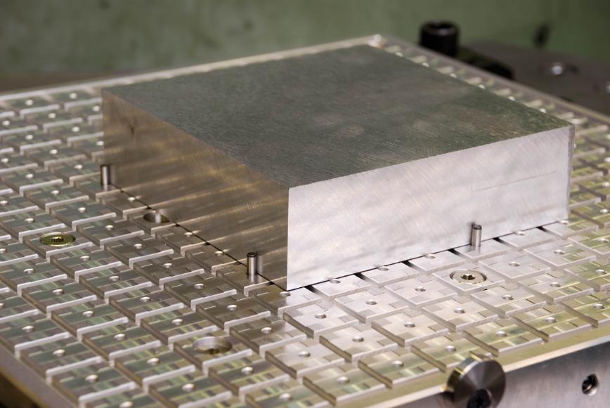 Logo Vacuum fixing plate - VACUUM CLAMPING TECHNOLOGY