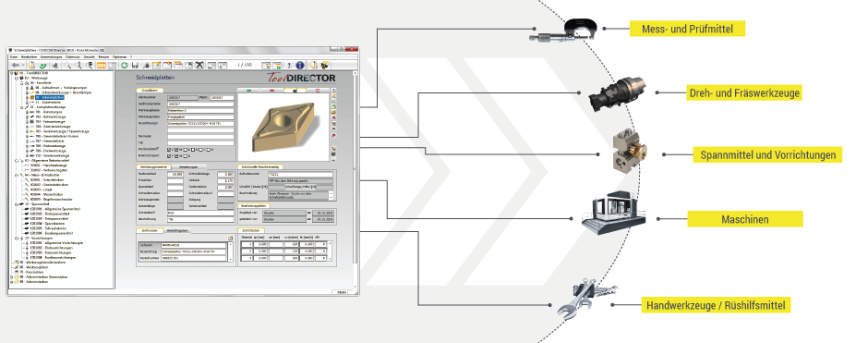 Logo Lagerverwaltung - Werkzeuglogistik - ToolDIRECTOR VM Warehouse