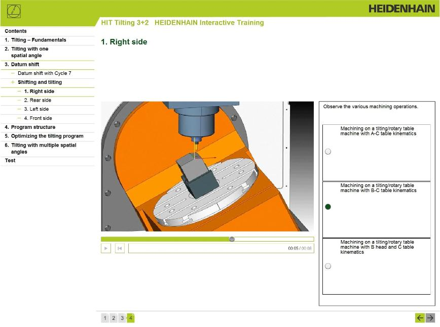 Logo Ausbildung - HIT- HEIDENHAIN Interactive Training