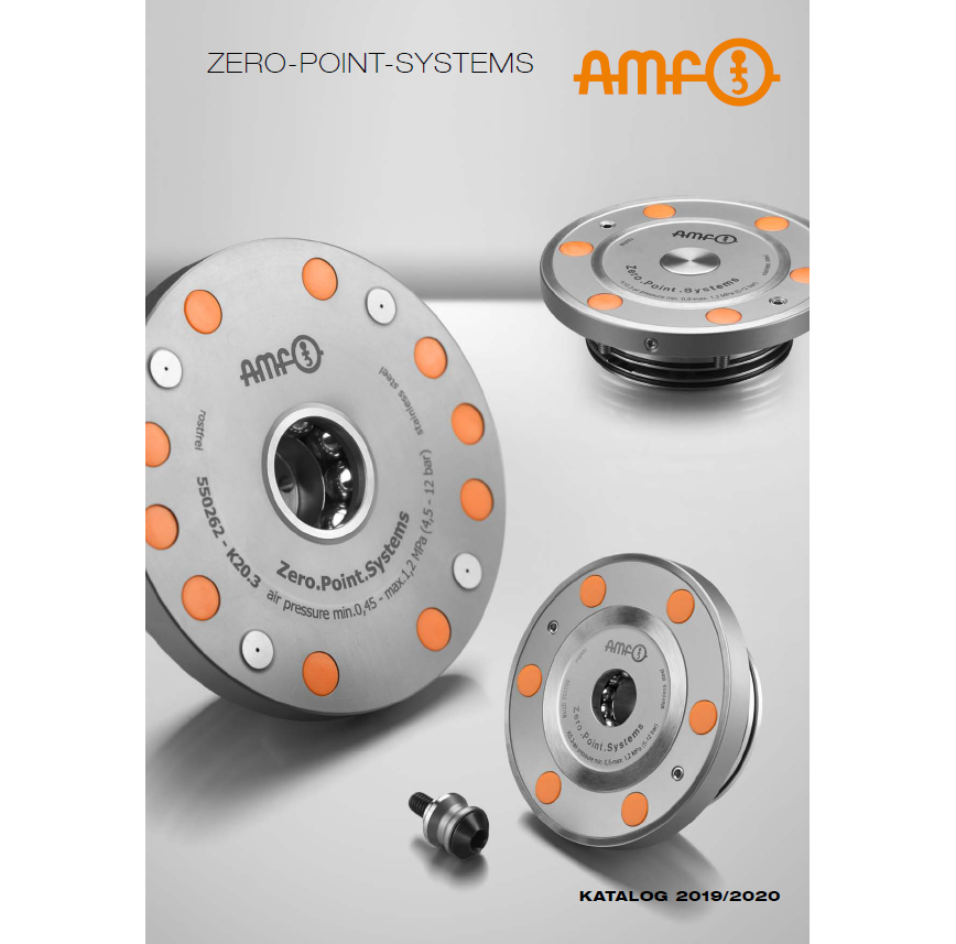 Logo Chucking system - ZERO-POINT - THE ZERO-POINT CLAMPING SYSTEM