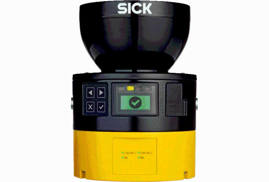 Logo Sicherheits-Laserscanner microScan3 Pro