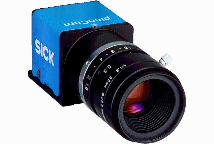 Logo Bildverarbeitungssensor - 2D-Vision picoCam