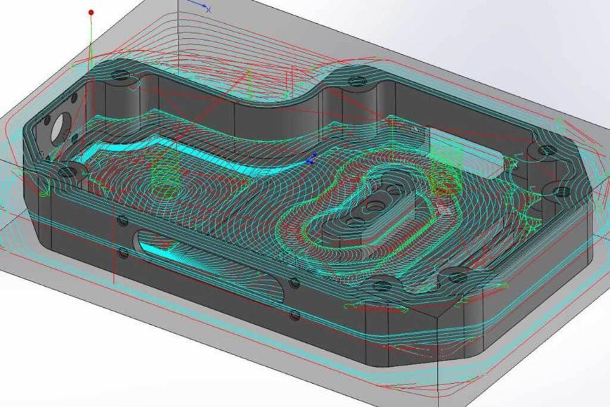 Logo CAM Software - iMachining 3D für prismatische Teile
