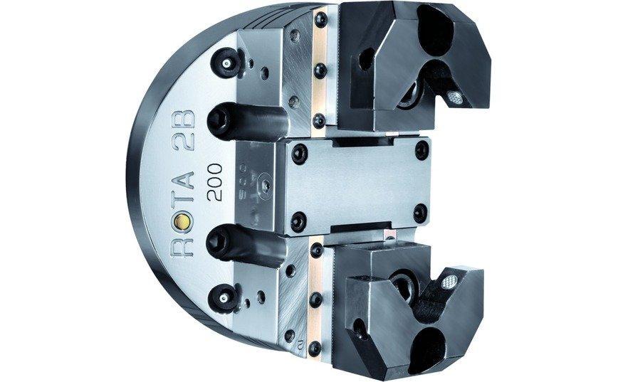 Logo Lathe chuck, hydraulically operated - ROTA 2B
