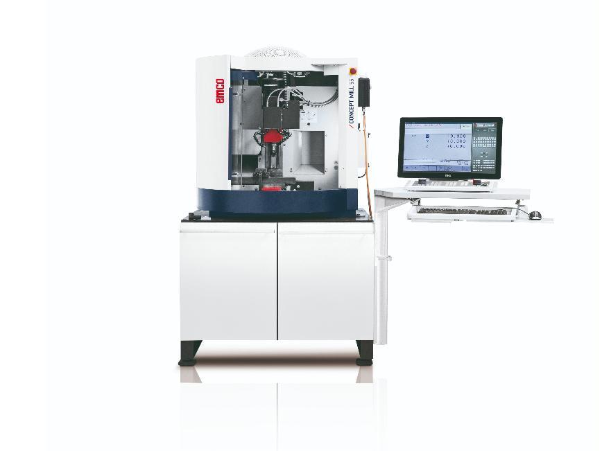 Logo Ausbildungsmaschine - EMCO CONCEPT MILL 55