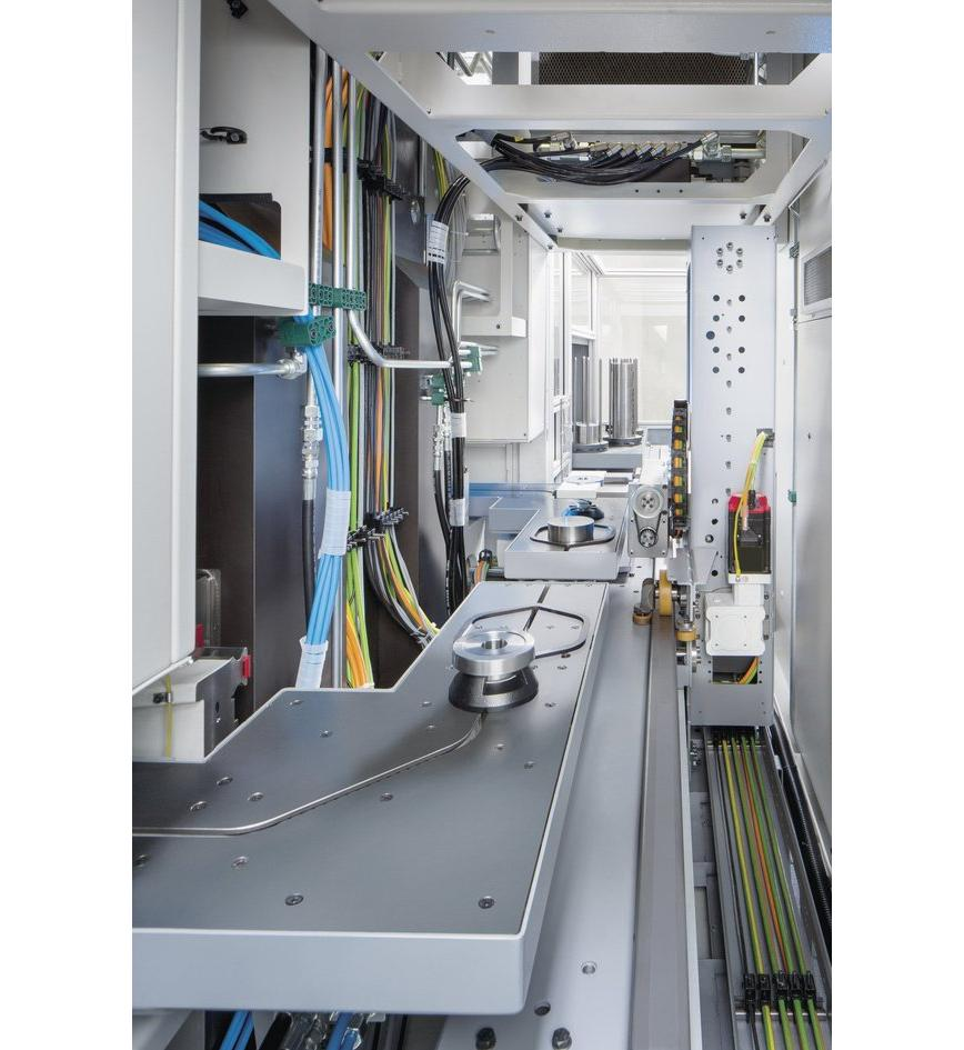 Logo Twin-Spindle Turning Machine for the highly productive manufacturing o
