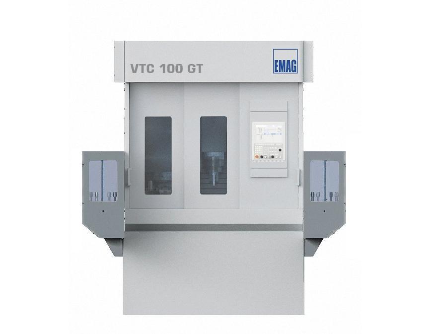 Logo Vertikale Dreh- und Schleifzentren - Wellenteile - VTC 100 GT