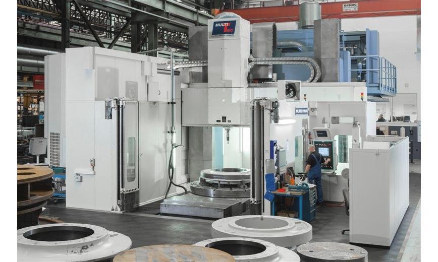 Logo Vertical machining centre - MultiTec