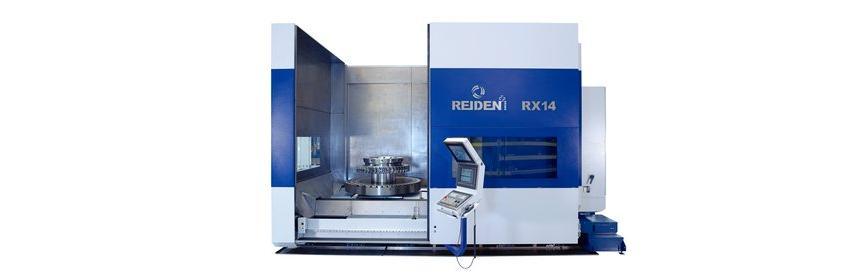 Logo 5-Achsen Bearbeitungscenter - REIDEN RX14