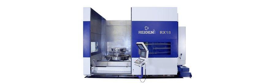 Logo 5-Achsen Bearbeitungscenter - REIDEN RX18