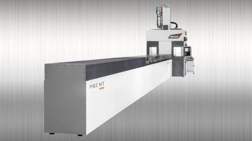 Logo Profile machining center - Profile machining center PBZ® NT