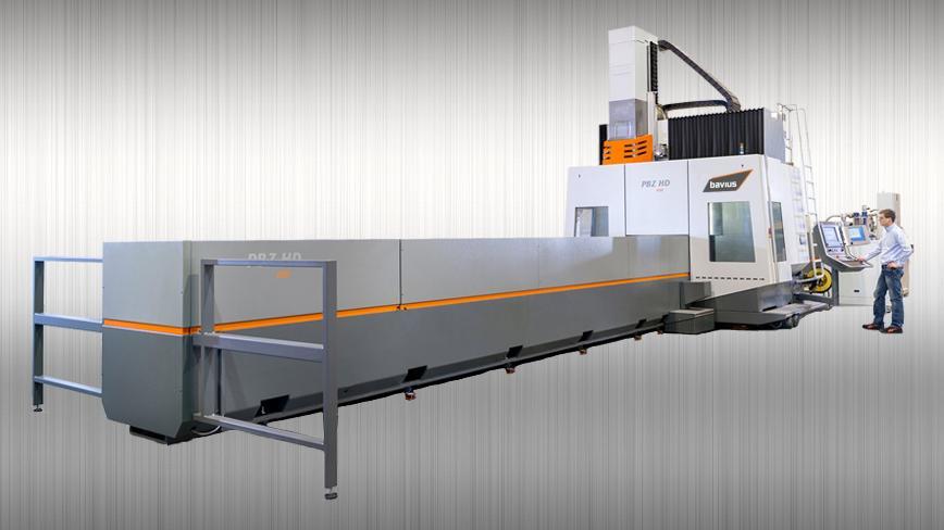 Logo Profile machining center - Profile machining center PBZ® HD