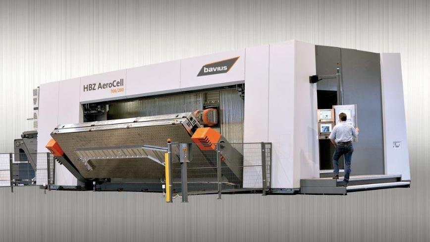 Logo Horizontal machining center - Horizontal machining center HBZ® AeroCel